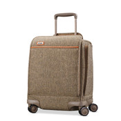 "Hartmann Tweed Legend 17"" Underseat Carry On Spinner Luggage"