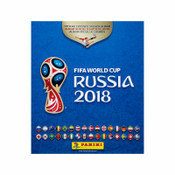 Panini 2018 Fifa World Cup Russia Soft Album w/ 5 Sticker Packs