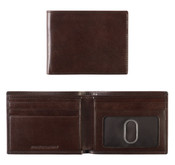 Johnston & Murphy Italian Leather RFID Slimfold Wallet - Brown