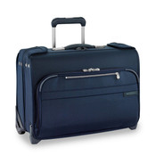 Briggs & Riley Baseline Carry-on Wheeled Garment Bag Suiter - Navy