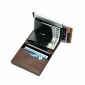 Minimalist RFID Blocking Aluminum POP UP Card Holder Wallet