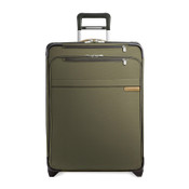 "Briggs & Riley Baseline Medium 25"" Expandable Upright Luggage - Olive"