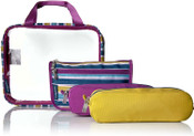 Baggallini Travel Trio Toiletry Cosmetic Bags