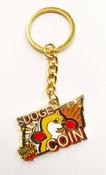 Shiba Inu Dog Doge Keychain Key Ring Dogecoin Much Wow To the Moon