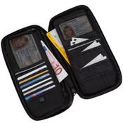 Go Travel RFID Blocking Travel Document Organizer 18 compartment Travel Wallet