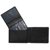Boconi Grant RFID Mens Nappa Leather Removable ID Pass Case Wallet