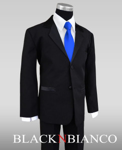 Blue Tie and Tuxedo for Kids