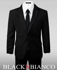 Kids Black Suit by Black N Bianco