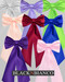Colored Flower Girl Dress Sash and Bow's