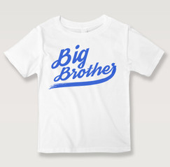 Big Brother White T-shirt for that good role mode.