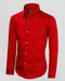 Black n Bianco Boys Red Dress Shirt