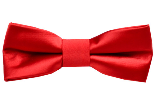 Black n Bianco Bow Red Bow Tie