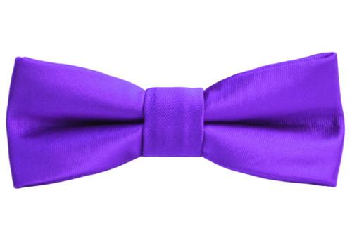 Black n Bianco Boys' Purple Bow Tie