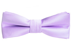 Black n Bianco Boys' Lilac Bow Tie