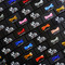 Black n Bianco Boys Bow Tie Packaging Vibrant colors