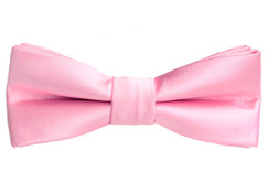 Black n Bianco Boys' Baby Pink Bow Tie