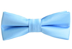 Black n Bianco Boys' Baby Blue Bow Ties