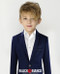 Boys Twill Navy Blazer Jacket