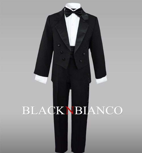 Boys Tuxedo with Tail for toddlers and babies