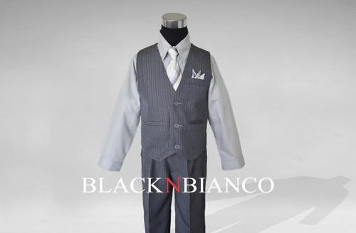 Boys Suit in Grey