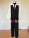 Black N Bianco Boys Vest Suit