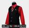 Boys Suit Red Shirt BLACK N BIANCO