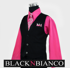 Suits for kids Fuchsia shirt