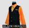 Boys Suit Pinstripe Pumpkin Orange