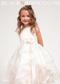 Ivory Flower Girl Skirt Easter Party Dress Black N Bianco