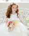 Flower Girl Dress in Color Banana