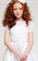 Flower Girl Dresses in White Black N Bianco