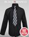 Boys Black Dress Shirt by Black n Bianco