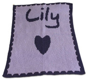 Personalized Blanket, Heart