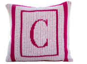 Personalized Pillow, Thick and Thin Border