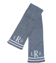 Personalized Scarf, Double Lines Below Name