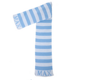 Personalized Scarf, Stripes