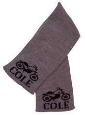 Personalized Scarf, Motorcycle
