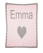 Personalized Stroller Blanket, Big Heart