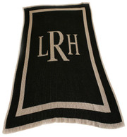 Personalized Stroller Blanket, Outlined