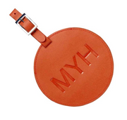 Personalized Circular Luggage Tag