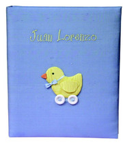 Large Post-Bound Scrapbook: Baby Chick