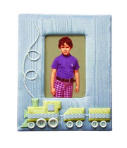 Personalized Picture Frame: Train