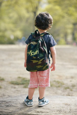 Small Personalized Backpack, Camo