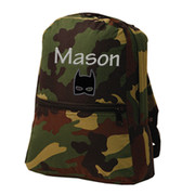 Small Backpack, Personalized Camo