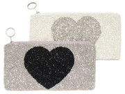 Heart Make-Up Case/Pencil Case