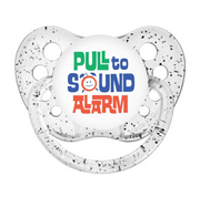 Expression Pacifier, Pull to Sound Alarm