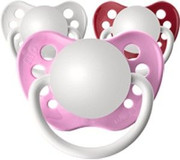 Personalized Pacifiers, Valentine's Girls