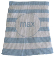 Personalized Blanket, Modern Stripe