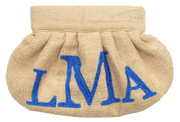 Monogrammed Gather Clutch