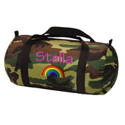 Duffle Bag, Personalized Camo